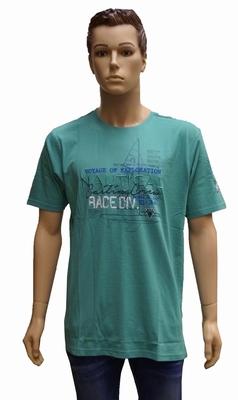 """Shirt met korte mouwen  """" Nautical """"  Groen"""
