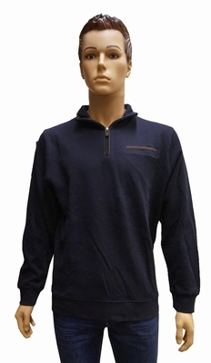 "Sweater met lange mouwen "" GCM ""  Donker blauw / bruin"