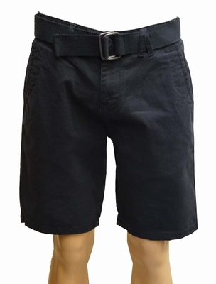 "Korte heren stretch broek  "" Brams Paris  ""  Navy"