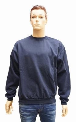 """Sweater met boord  """" Donker blauw """""""