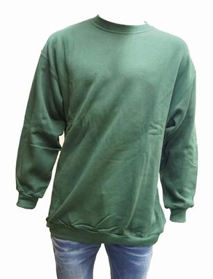 """Sweater met boord  """" Groen """""""