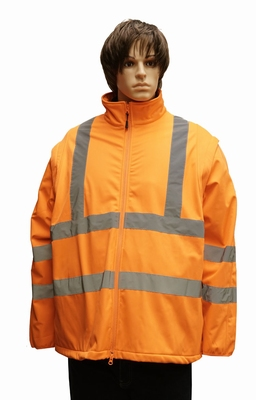 """Grote maten veiligheidsjas  """" Neon oranje """""""