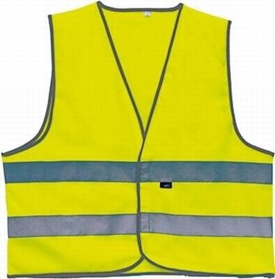 """Veiligheidsvest grote maten  """" Neon geel """""""