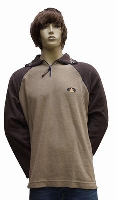 """Sweater met lange mouwen """"  Bruin / beige """""""