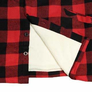 """Gevoerde houthakkers blouse """"  Wit / zwart """""""