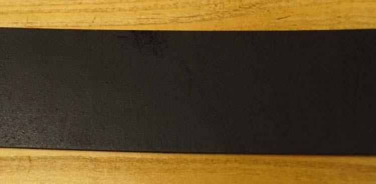 """Leren jeans riem zwart """"  Met metalen lusje 155 """" 4 cm breed"""