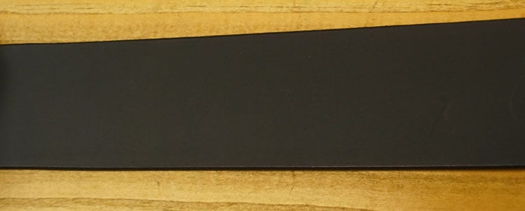 "Leren jeans riem zwart  "" Vittozzi 147 ""   4 cm breed"