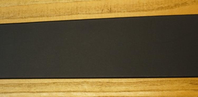 "Leren jeans riem zwart  "" Vittozzi 149 ""   3,5 cm breed"