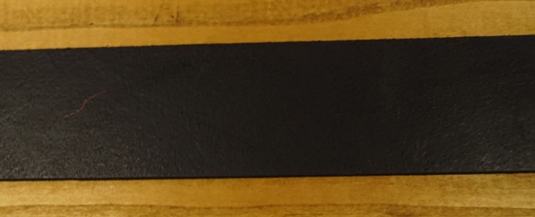 "Leren jeans riem zwart  "" Vittozzi 239 ""   3,5 cm breed"