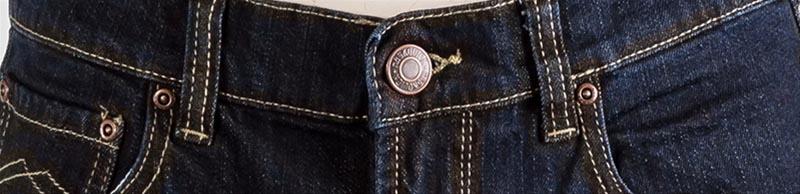 "Maskovick stretch jeans  "" A  Clinton "" Dark rinsed"