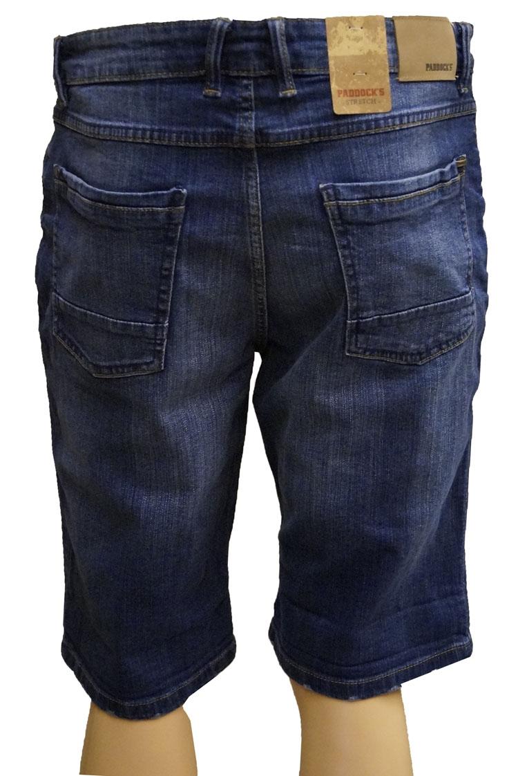 "Stretch korte broek  "" Paddock's ""  Dark used"
