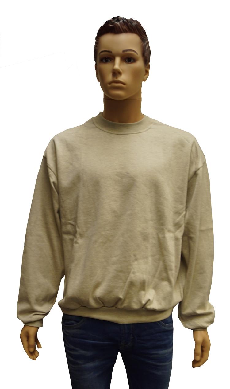 """Sweater met boord  """" Creme / beige """""""