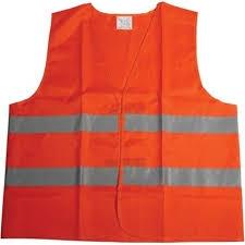 """Veiligheidsvest grote maten  """" Neon oranje """""""