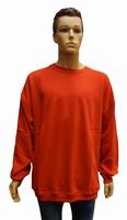 """Sweater met boord  """" Rood """""""