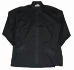 """Heren overhemd met lange mouwen """" Arrivee """"  Zwart"""