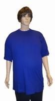 """Kamro T-shirt met korte mouwen  """" Extra lang """"  Kobalt"""