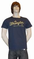 """T-shirt met kort mouwen   """" Wrangler """"  Donker blauw"""